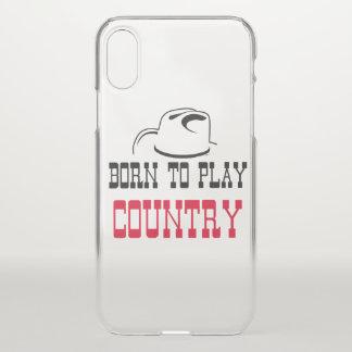 Funda Para iPhone X Llevado jugar el país
