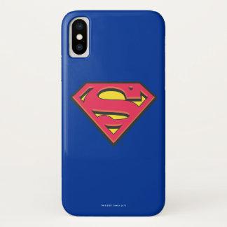 Funda Para iPhone X Logotipo clásico del S-Escudo el | del superhombre