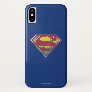 Funda Para iPhone X Logotipo impreso el | del S-Escudo del superhombre