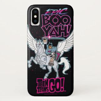 Funda Para iPhone X ¡Los titanes adolescentes van! Cyborg del guerrero