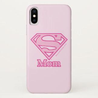Funda Para iPhone X Mamá del S-Escudo