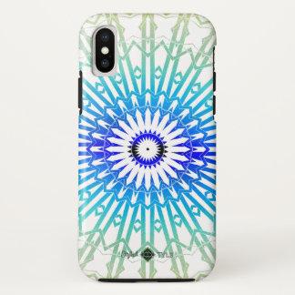 Funda Para iPhone X Mandala 2 (arco iris) del espejo de la sombra