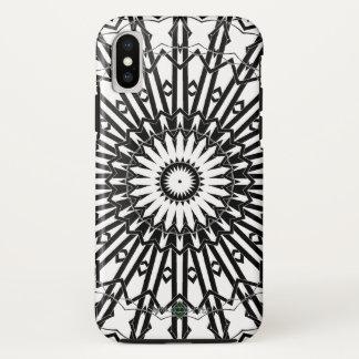 Funda Para iPhone X Mandala invertida 2 del espejo