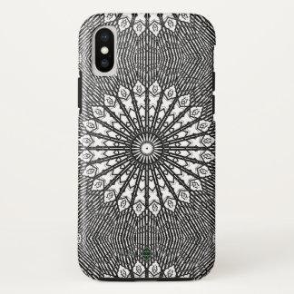 Funda Para iPhone X Mandala invertida del espejo