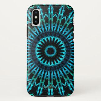 Funda Para iPhone X Mandala Wispy del espejo