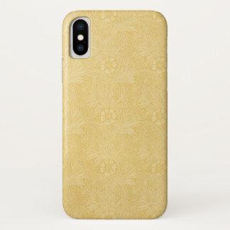 Funda Para iPhone X Maravilla de William Morris, flores del jardín del