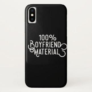 Funda Para iPhone X Material 100% del novio