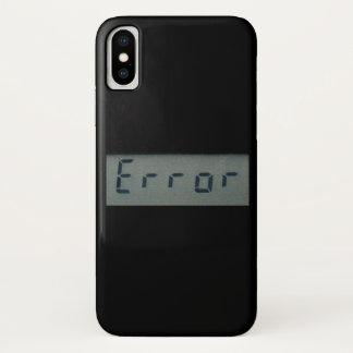 Funda Para iPhone X Mensaje de error electrónico