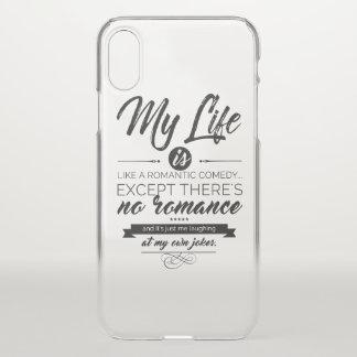 Funda Para iPhone X Mi vida es como una comedia romántica