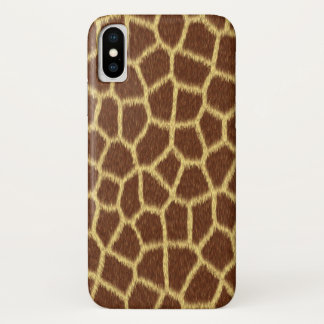 Funda Para iPhone X Modelo animal de la piel del falso estampado de