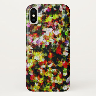 Funda Para iPhone X Modelo colorido abstracto moderno