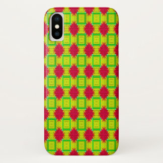 Funda Para iPhone X Modelo colorido decorativo