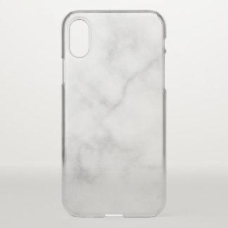 Funda Para iPhone X Modelo de mármol blanco elegante con clase