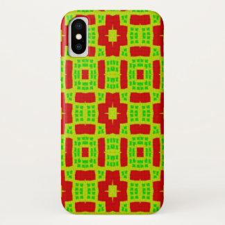 Funda Para iPhone X modelo de moda abstracto colorido