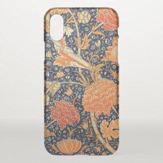 Funda Para iPhone X Modelo floral de Nouveau del arte de William