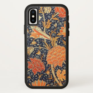 Funda Para iPhone X Modelo floral de Nouveau del arte de William