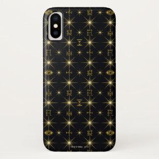 Funda Para iPhone X Modelo mágico de los símbolos