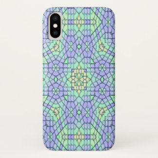 Funda Para iPhone X Modelo moderno abstracto del color