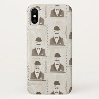 Funda Para iPhone X Modelo retro para el hombre