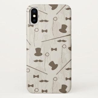 Funda Para iPhone X Modelo retro para el hombre 2