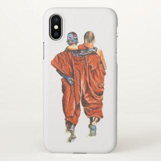 Funda Para iPhone X Monjes budistas