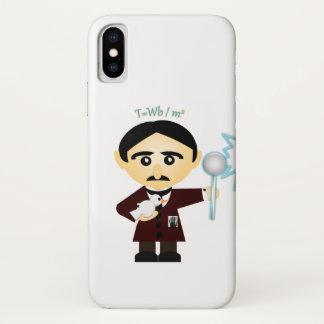 Funda Para iPhone X Nikola Tesla