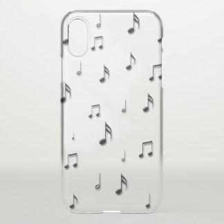 Funda Para iPhone X Notas musicales
