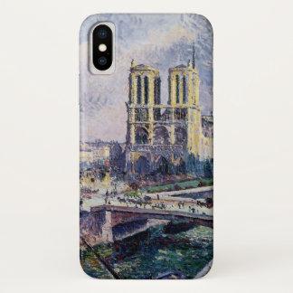 Funda Para iPhone X Notre Dame