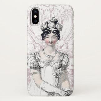 Funda Para iPhone X Novia Jane Austen de la regencia
