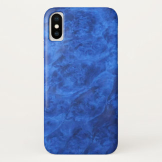 Funda Para iPhone X Nuez azul