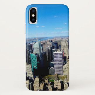 Funda Para iPhone X Opinión de la ciudad de NYC del Empire State