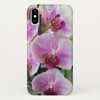 Funda Para iPhone X Orquídeas de polilla rosadas