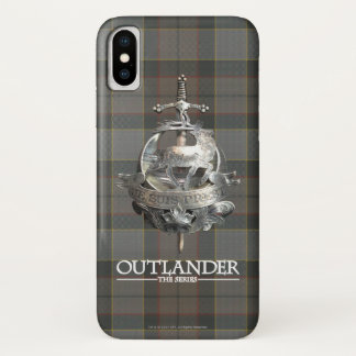 Funda Para iPhone X Outlander el | la broche de Fraser