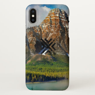 Funda Para iPhone X Paisaje abstracto