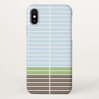 Funda Para iPhone X Paisaje abstracto moderno