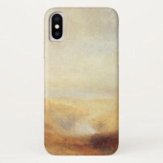 Funda Para iPhone X Paisaje con la bahía distante del río de José