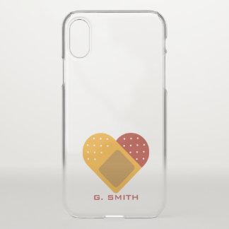 Funda Para iPhone X Para los doctores y las enfermeras. Corazón