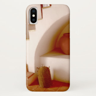 Funda Para iPhone X Pasos del sudoeste de la sepia