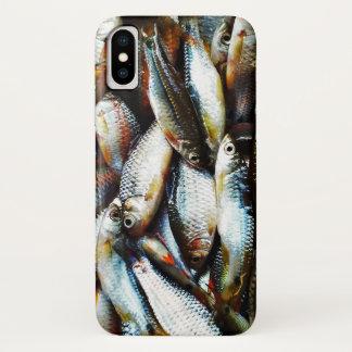 Funda Para iPhone X Pequeños pescados blancos