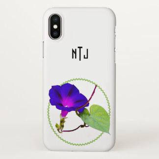 Funda Para iPhone X Personalice: Escoja la fotografía floral del rosa