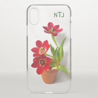 Funda Para iPhone X Personalice:  Fotografía floral de los tulipanes