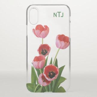 Funda Para iPhone X Personalice:  Pique la fotografía floral de los