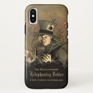 Funda Para iPhone X Personalizado enojado divertido del sombrerero de