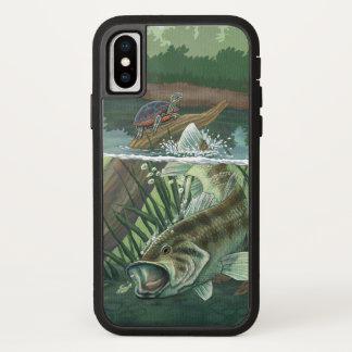 Funda Para iPhone X Pesca de perca americana