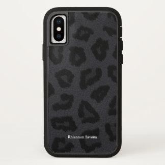 Funda Para iPhone X Piel de la pantera negra