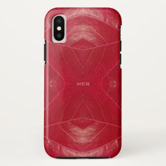 Funda Para iPhone X Piel sintética roja