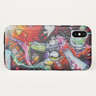 Funda Para iPhone X Pintada médica colorida del tema