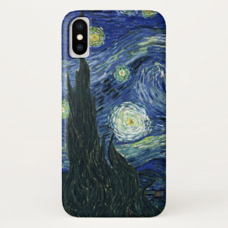 Funda Para iPhone X Pintura de la bella arte de Vincent van Gogh de la