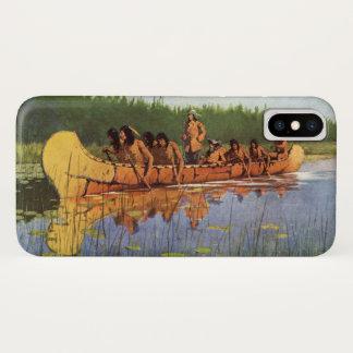 Funda Para iPhone X Pioneros del vintage, grandes exploradores por