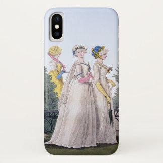 Funda Para iPhone X Placa de moda de la regencia Jane Austen